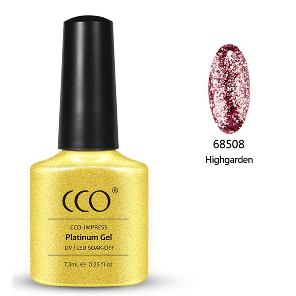 Highgarden Platinum 08 - Gel Nail Varnish