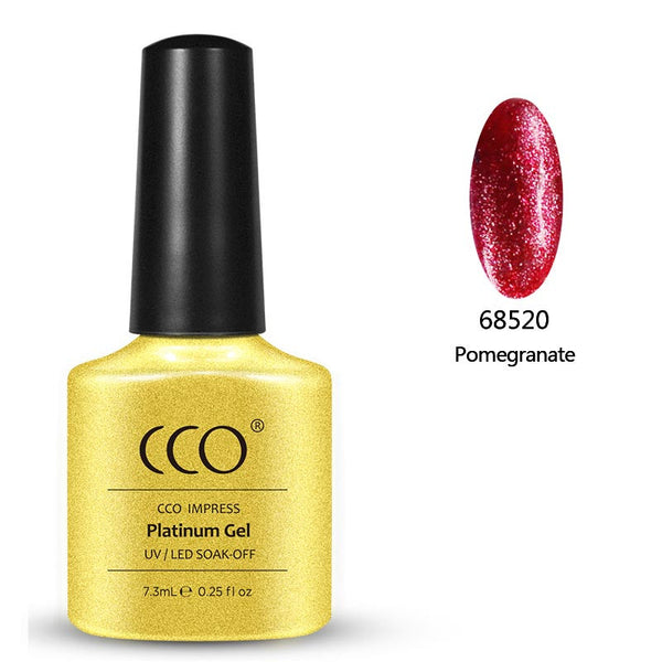 Pomegranate Platinum 20 freeshipping - Gel Nail Varnish