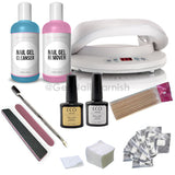 CCO Deluxe Kit - CND Lamp - Gel Nail Varnish