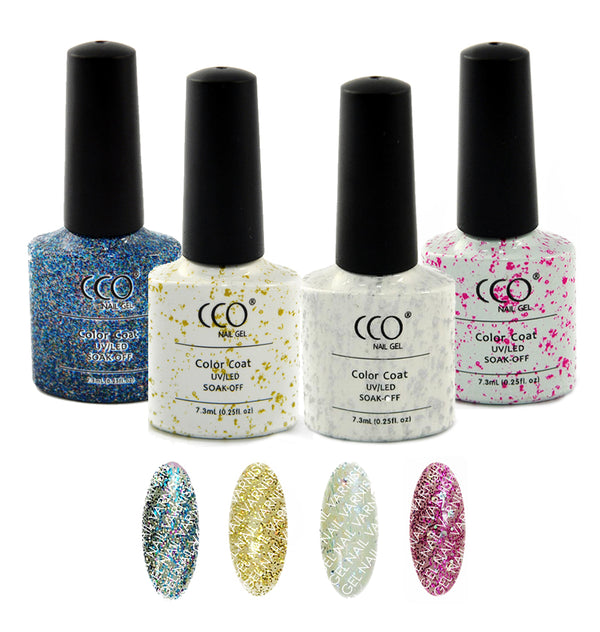 CCO Glitter Collection freeshipping - Gel Nail Varnish
