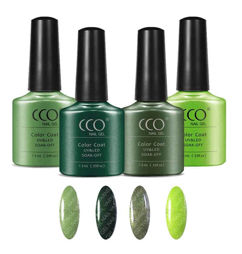 CCO Green Collection freeshipping - Gel Nail Varnish