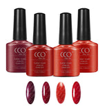 CCO Red Collection - Gel Nail Varnish Polish