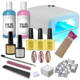 CCO Deluxe Rose Gold Platinum Kit - Gel Nail Varnish