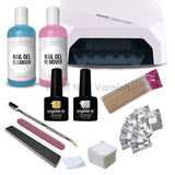 Crystal-G Deluxe Kit - Led Lamp - Gel Nail Varnish