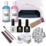 Crystal-G Super Deluxe Kit - Led Lamp - Gel Nail Varnish