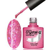 Crystal-G D03 Diamond Glitter - Gel Nail Varnish