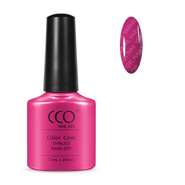 CCO Hot Pop Pink - Gel Nail Varnish