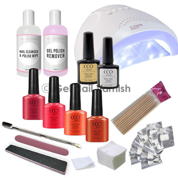 CCO Deluxe Coral Kit freeshipping - Gel Nail Varnish