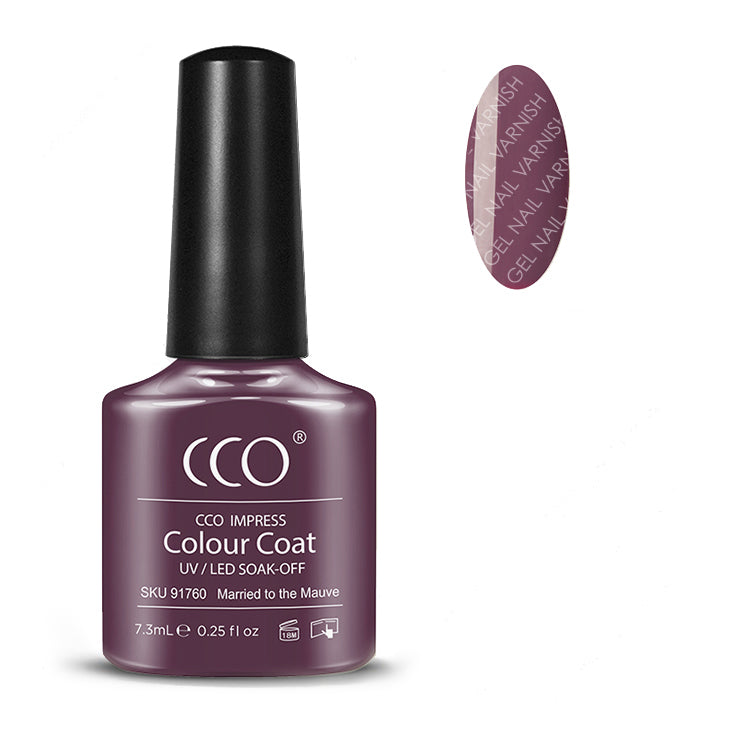 CCO Married to the Mauve freeshipping - Gel Nail Varnish