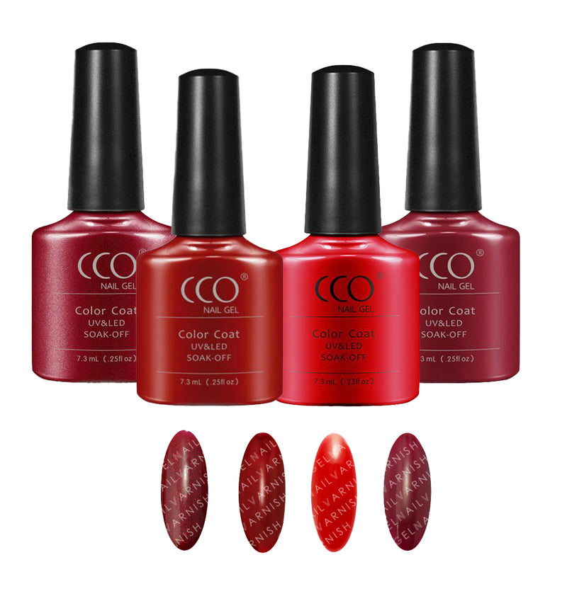 CCO Red Collection freeshipping - Gel Nail Varnish