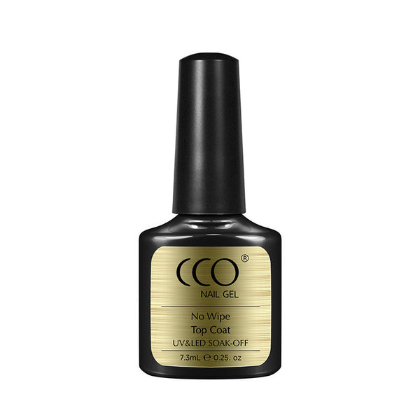 CCO No Wipe Top Coat 7.3ml - Gel Nail Varnish