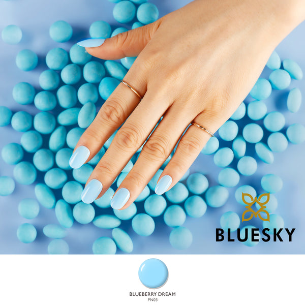 Bluesky Blueberry Daydream freeshipping - Gel Nail Varnish