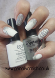 Crystal-G D18 Diamond Glitter - Gel Nail Varnish