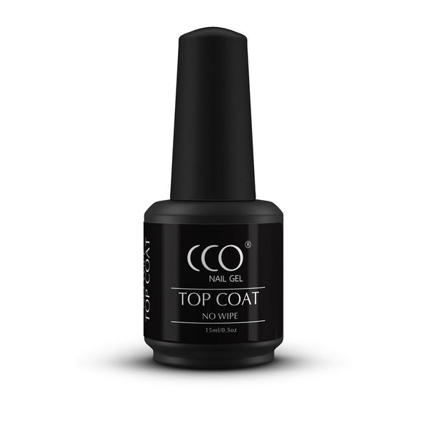 CCO No Wipe Top Coat 15ml - Gel Nail Varnish