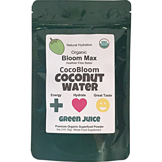 Superfood Powder Blend: CocoBloom GREEN JUICE plus PROTEIN