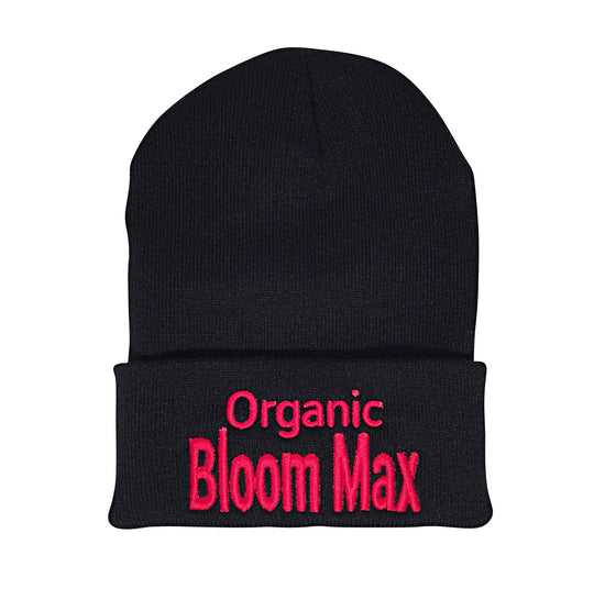 Organic Bloom Max signature beanies - Organic Bloom Max