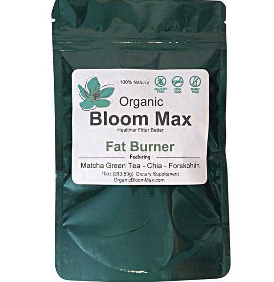 Fat Burner Supplement - Superfood powders - Organic Bloom Max