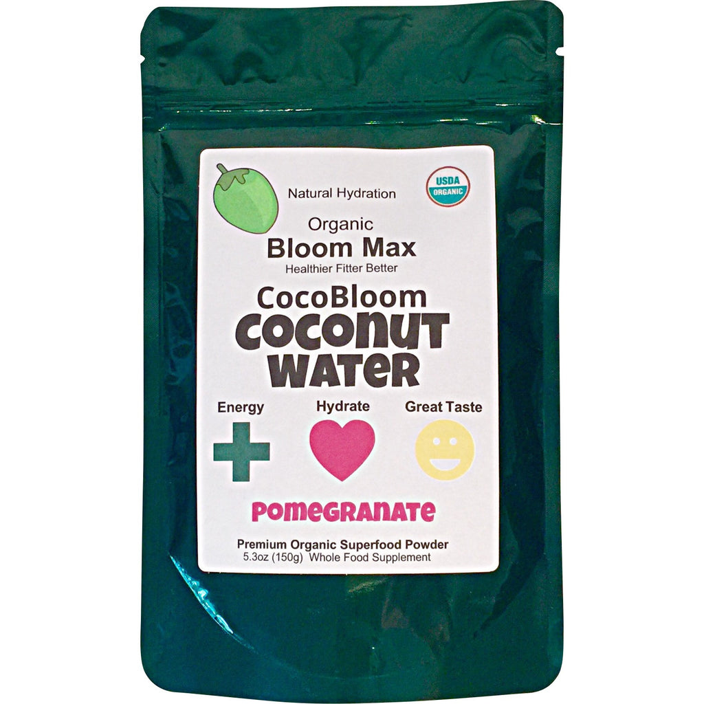 CocoBloom Organic Coconut Water Pomegranate Beet Root Superfood powder drink mix