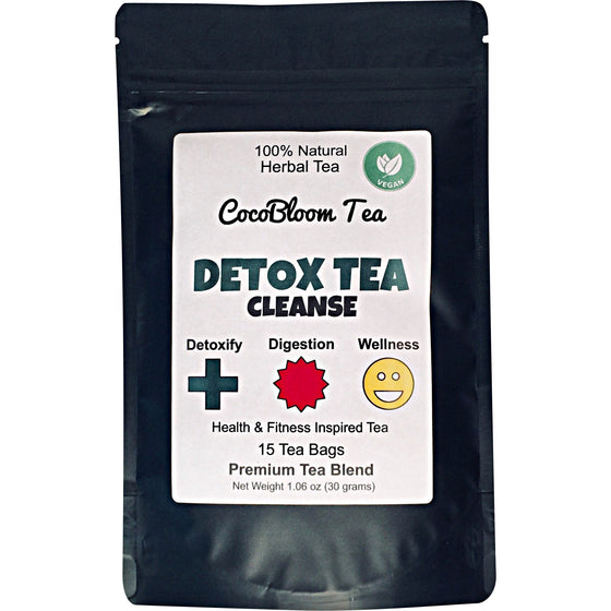 CocoBloom - Detox Tea - Cleanse - Herbal Tea - Wellness - Energy - Skin