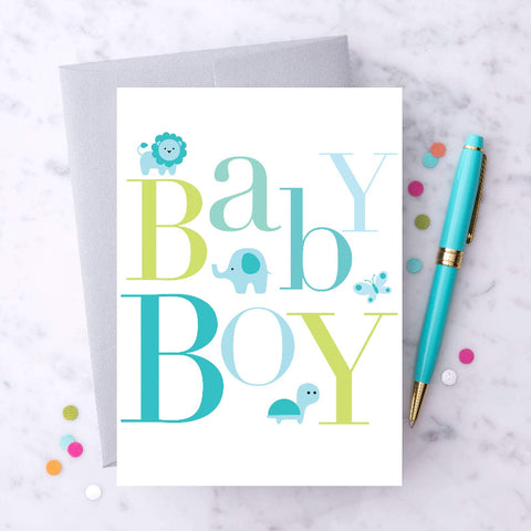 "Design with Heart- ""Baby Boy"""