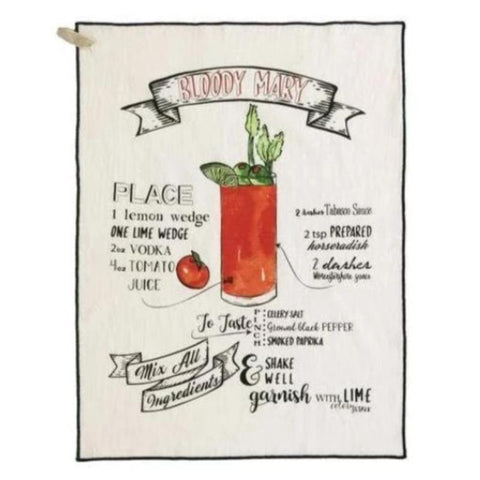 Shiraleah - Bloody Mary Tea Towel