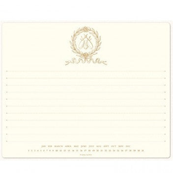 Alexa Pulitzer Mousepad Notepad-Empire Bee