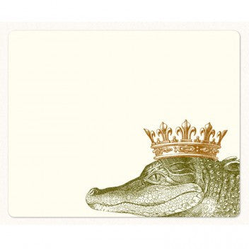 Alexa Pulitzer Mousepad Notepad-King Crocodile