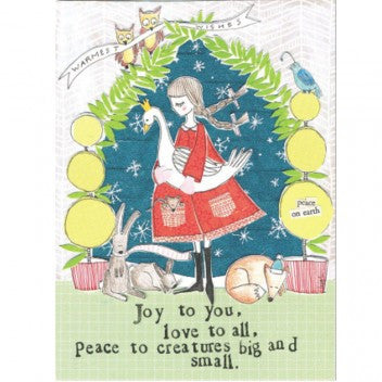 "Curly Girl Designs ""Creatures Big and Small"" boxed holiday cards"