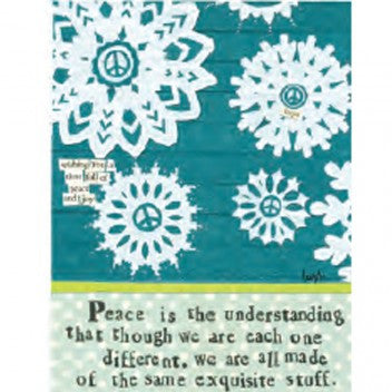 "Curly Girl Designs ""Peace"" boxed holiday cards"