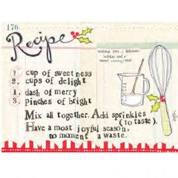 "Curly Girl Designs ""Recipe"" boxed holiday cards"