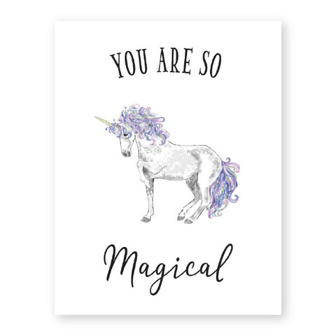 Donovan Designs You Are So Magical Card