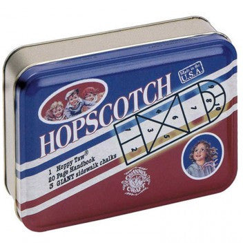 Hopscotch Game in Retro Tin