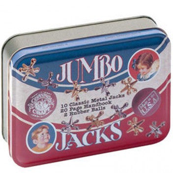 Jumbo Jacks Game in Retro Tin