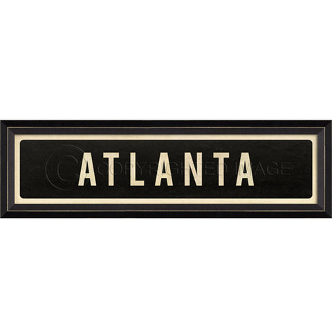 Street Sign Wall Decor-Atlanta