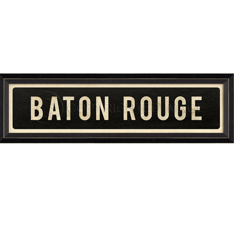 Street Sign Wall Decor-Baton Rouge
