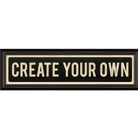Street Sign Wall Decor-Create Your OWN