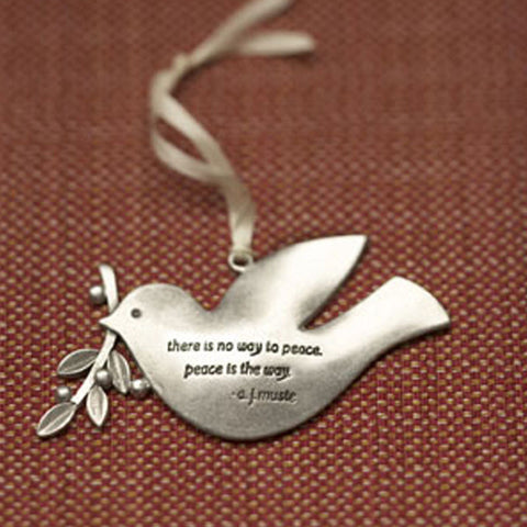Peace Dove Ornament