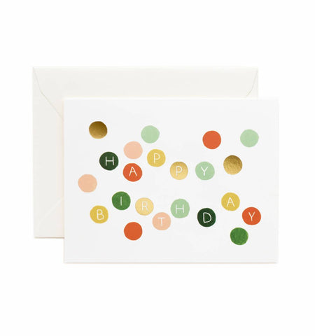 Rifle Paper Co. Birthday Dots Card