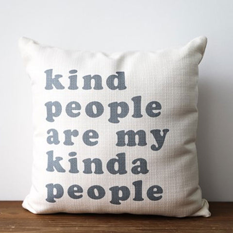 Kind People Pillow