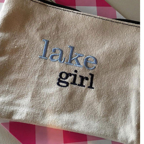 Lake Girl Canvas Bag
