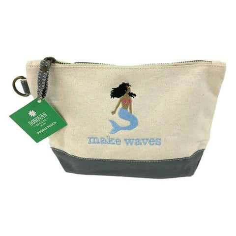 Donovan Designs Make Waves Mermaid Doodle Pouch