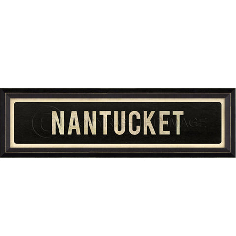 Street Sign Wall Decor Nantucket The Great Gift And Paper Co