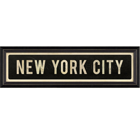 Street Sign Wall Decor-New York City
