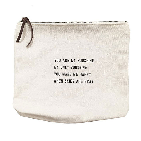 Canvas Bag:  You are my Sunshine