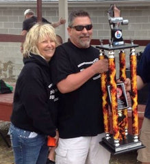 pitmasterIQ BBQ with Grand Champion trophy