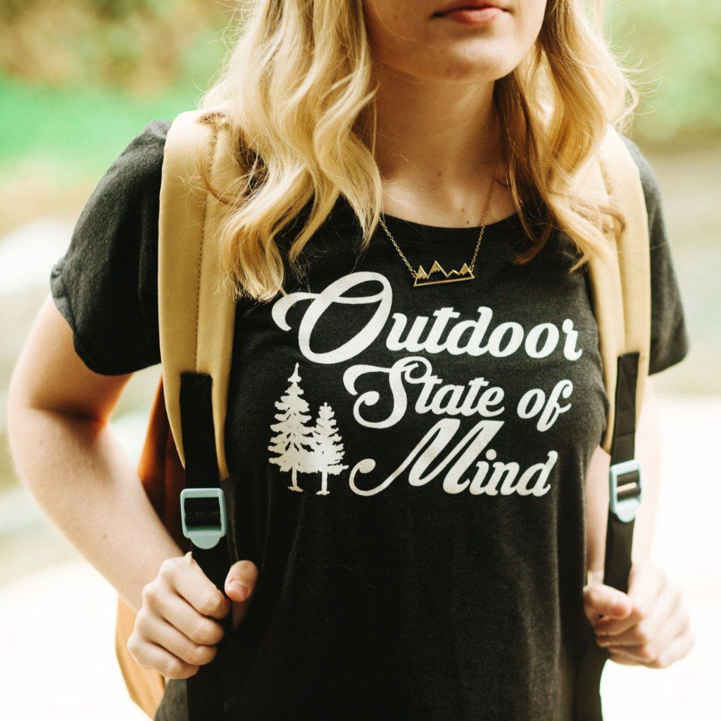 outdoor state of mind tee