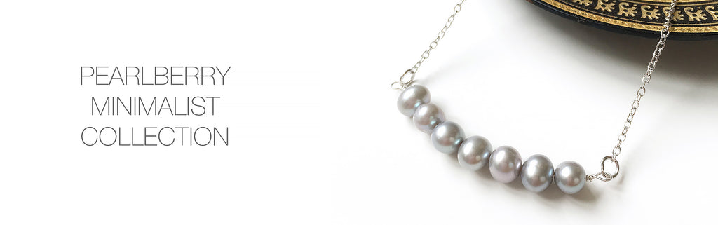 Pearlberry Jewellery Minimalist Collection