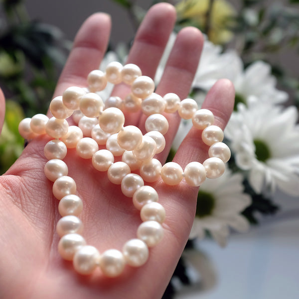 Pearlberry Jewellery Genuine Freshwater Classic Pearl Necklace Elegant