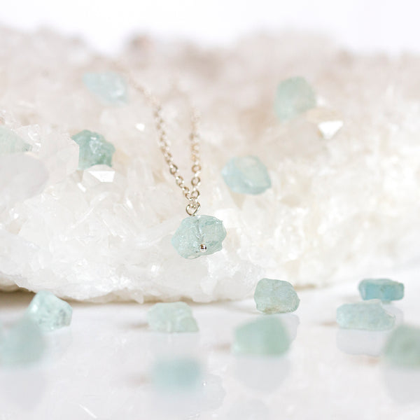 aquamarine jewellery handmade uk