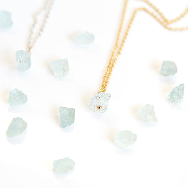 aquamarine march birthstone jewellery
